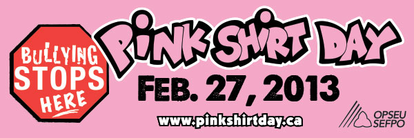 Pink Shirt Day | OPSEU Region 3