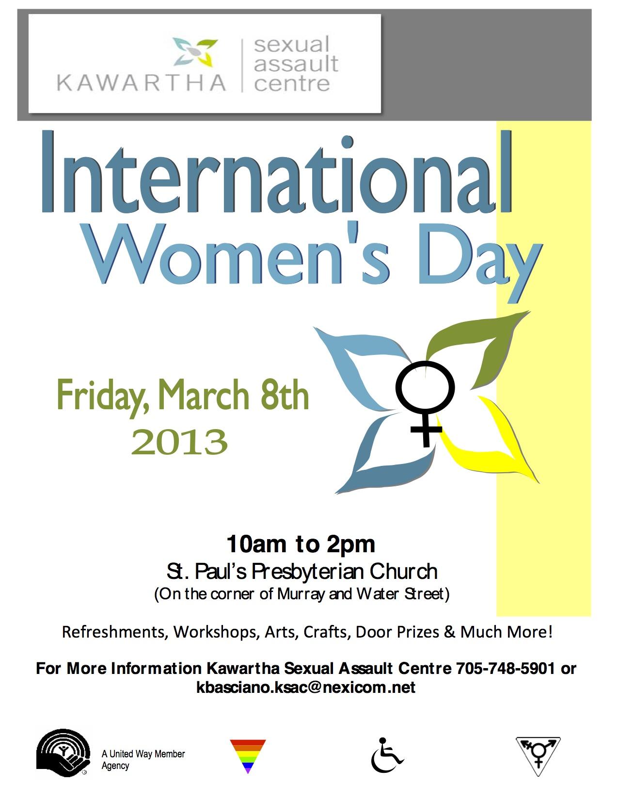 International Women's Day Events around the Region | OPSEU